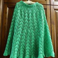 绿丝绦 矮个子也可以hold得住的钩针半身长裙