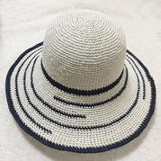 掌握这些规律,你也可以自由钩出今年夏天的基本款太阳帽