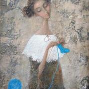 女人心似毛衣针 一心一意都在编织人生