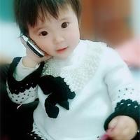 儿童毛衣黑白风也好看 原创学院风儿童棒针蝴蝶结毛衣