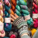 逛展会 | 2018爱丁堡毛线节:爱线者的梦幻周末百货商场