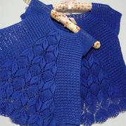 即是孔雀又是风铃 可以钩亲子款的钩针叶子花编织服饰教程