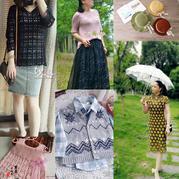 201822期周热门编织作品:手工编织女士儿童春夏服饰10款