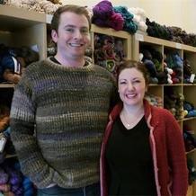 成功毛线店采访纪实-纽约布鲁克林菱格毛线店