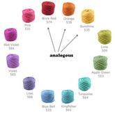 毛线编织颜色搭配如何才好看 色彩理论3个基本知识点助你快速选颜色