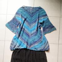 知织 女士钩织结合美衣编织经验分享