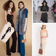 大牌编织服装款式欣赏 著名时装品牌法国Sonia Rykiel2018时装周
