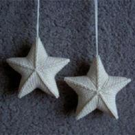 简单易懂棒针编织星星的编织教程