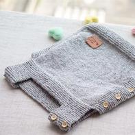 宝宝简约小马甲的织法编织视频教程
