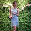月色 手工编织女士棒针高雅礼服吊带裙