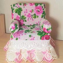 百洁布的诱惑 轻松几步就可以完成的娃娃沙发让你不动手都难