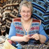 世界上编织最快的人--Hazel Tindall的编织人生