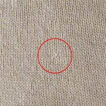 消灭藏线痕迹的一小步 棒针织物藏匿线头小技巧