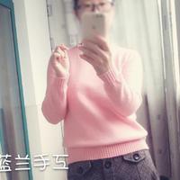 冬衣夏织 简单精致实用的女士棒针羊绒打底衫