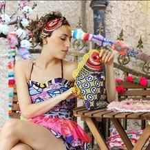 因为爱手工钩编,让爱色彩与旅行的西班牙美女在上海大放异彩