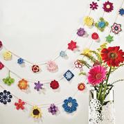 百余款漂亮毛線鉤花圖案 鉤針花朵葉子編織圖解
