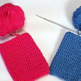 把那些编织时有洞的、斜的纹路用技巧脉动回来 钩针长针编织技巧