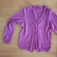 邂逅星空 开衫织法的女士棒针套头毛衣