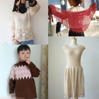 201835期周热门编织作品:女士儿童毛衣编织服饰8款