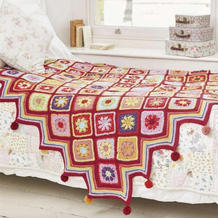 """这些""""拼""""出来的绝美毛线毯,每一款都想抱回家!"""