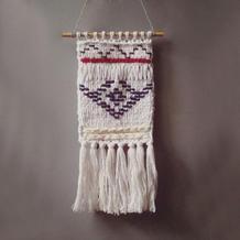手工编织异域风情装饰 用来织毛衣也好看