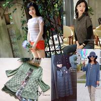 201838期周热门编织作品:女士儿童手工编织服饰8款