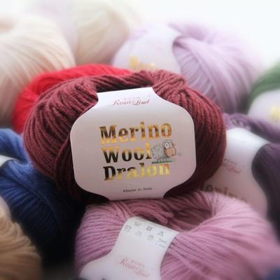罗莎琳达·RL6023 柔软亲肤罗莎琳达德绒美丽诺羊毛手编中粗线