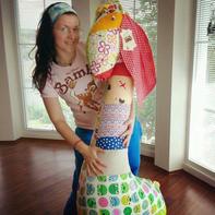 学会这个方法玩偶想做多大做多大 闲置的衣服也有新用途啦