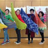 一起走过的三年五载 五湖四海温暖有爱的编织聚会