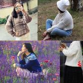 201844期周热门编织作品:时尚手编2018秋冬女士儿童毛衣17款