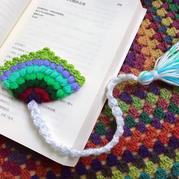 简单好做的毛线编织超级漂亮可爱的书签