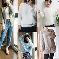 201846期周热门编织作品:2018秋冬手工编织棒针毛衣衣13款