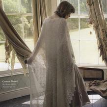 仙气十足美不胜收豪华奢侈的棒针蕾丝方形大披肩