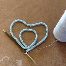 """亲手打造一款""""奢侈品"""" 钩珠结合米珠项链手链"""