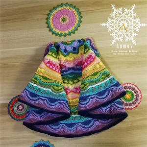 色彩的约会 绣花线钩织迷你疯狂曼陀罗编织心得