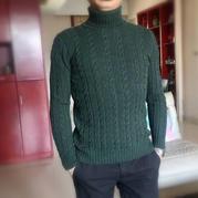 永不过时男女老幼都适合的经典棒针麻花毛衣