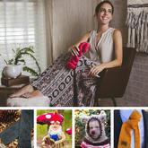 时尚辣妈设计师的流畅无界花纹Infinity Crochet