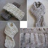 簡單好織的別致棒針花樣(零基礎織圍巾,有基礎織毛衣)