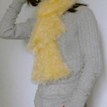 围巾百变并不神秘 编织达人教你亲手织一款百变围巾