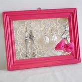 可用来挂东西的装饰相框,周末半天时间就可以DIY完成