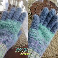 冬日里的溫暖編織 棒針粗線五指手套教程