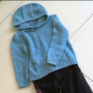 经典实用男童棒针连帽卫衣织法教程