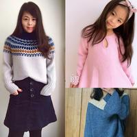 201908期周热门编织作品:男士女士儿童手编毛衣15款