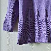 杨树林 即虐又有乐趣的棒针扭花套头毛衣