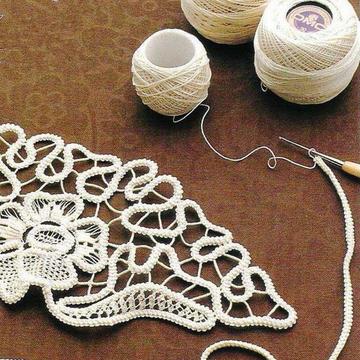 钩针与缝衣针打造的别样美丽装饰 用手工扮靓你的春天吧