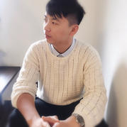 素简 非常简单的男士钩针长袖毛衣(含同款女版连帽款)