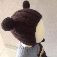 织法超简单的软萌棒针宝宝米奇帽