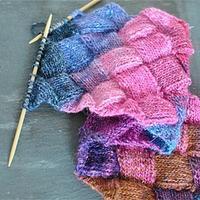 经典流行棒针方块花样带你看百变魅力编织