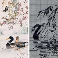 织毛衣找中国元素,这边的图案看过来喔