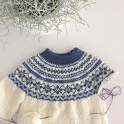 学会基本方法,从上往下织毛衣再也不是难事了(附前后差说明)